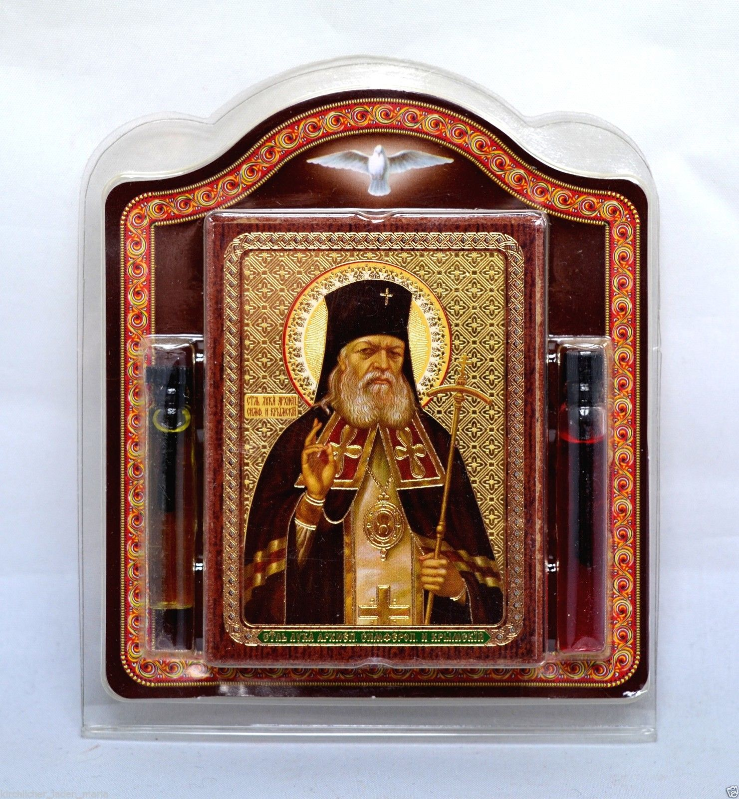 "Oil and Chrism consecrated near icon of Holy ""Holy Luka"""