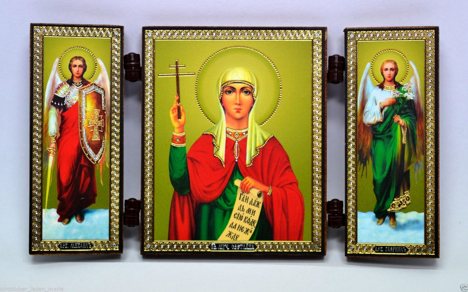 Consecrated icon Holy Svetlana