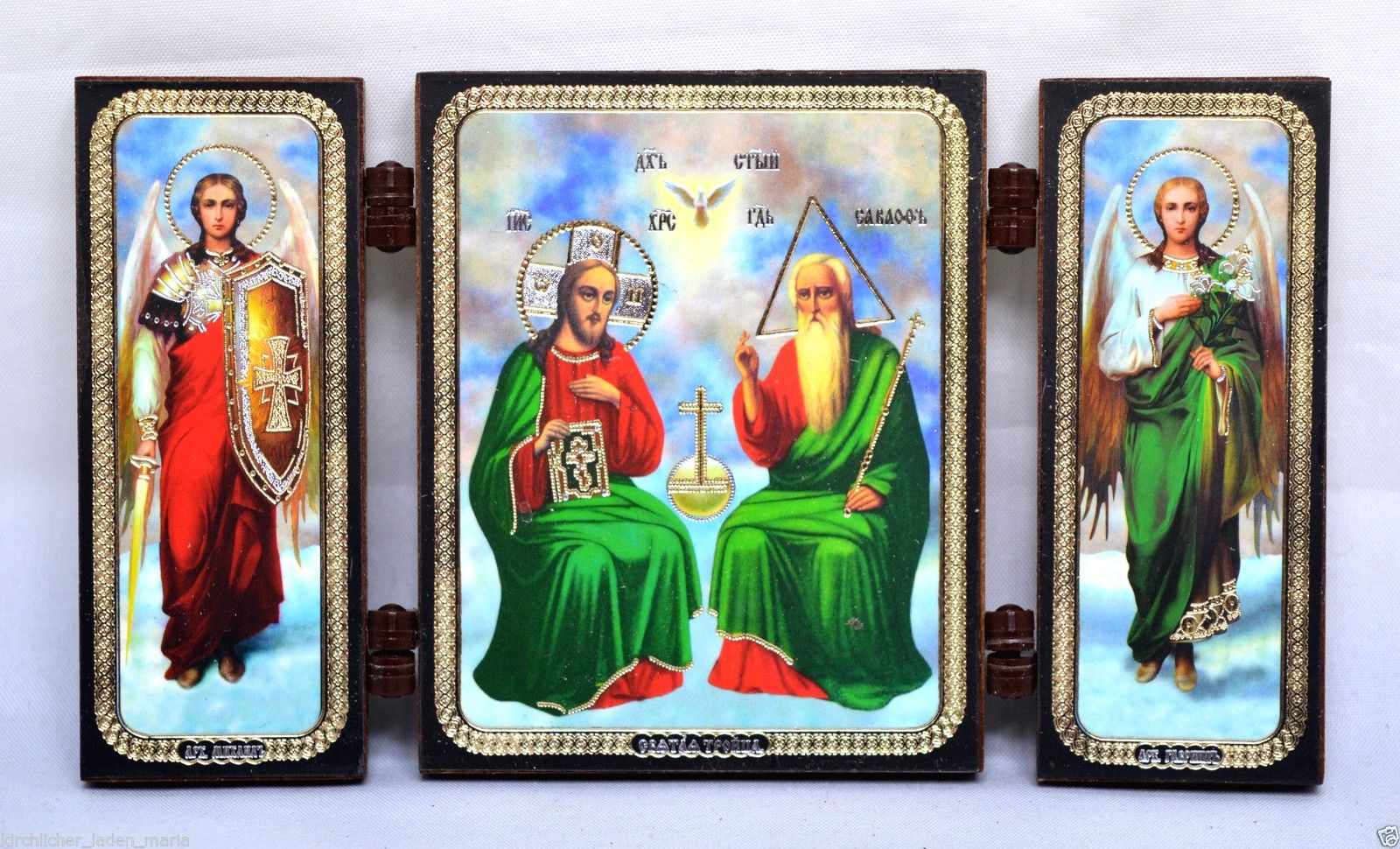 Consecrated icon Holy Trinity