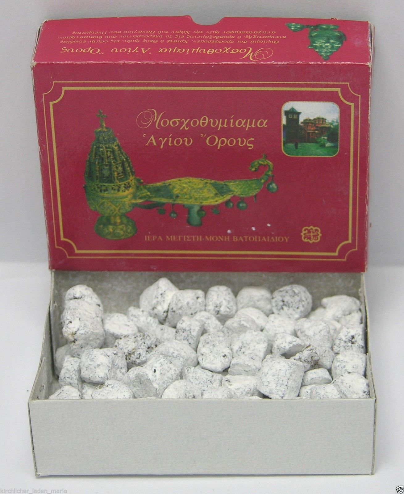 Incense Nuchta With Loya Vatopedi Mount Athos 10 gr
